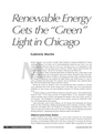Renewable Energy Gets the Green Light in Chicago