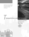 Transportation and the Economy- National and State Perspectives