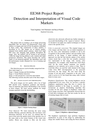 Detection and Interpretation of Visual Code Markers