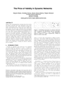 The Price of Validity in Dynamic Networks