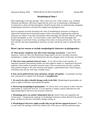 Morphological Data I