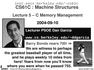 Lecture 5 – C Memory Management