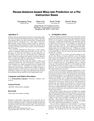 Reuse-distance-based Miss-rate Prediction on a Per Instruction Basis