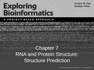RNA and Protein Structure: Structure Prediction