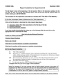 Report Guideline for Experiment 2