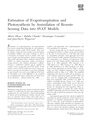 Estimation of Evapotranspiration and Photosynthesis by Assimilation