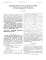 Implementation of Sieving Step of NFS On Reconfigurable Platform
