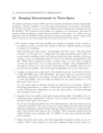 Ranging Measurements in Three-Space
