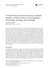 Constructing Constructivism CS