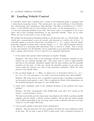 Landing Vehicle Control