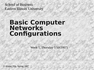 CIS3200 Basic Computer Networks Configurations