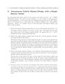 Autonomous Vehicle Mission Design