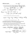QUIZ - CHEM 161