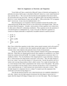 Supplement on Electricity and Magnetism