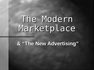 The Modern Marketplace