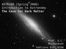The Case for Dark Matter