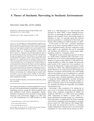 A Theory of Stochastic Harvesting in Stochastic Environments