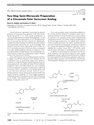 Two-Step Semi-Microscale Preparation of a Cinnamate Ester Sunscreen Analog