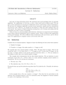 Lecture 6 - Induction Draft