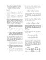 Practice Exam Questions and Solutions for Chapters 6, 7, 12, 15, 16, 8 and 13