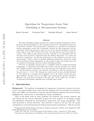 Algorithms for Temperature