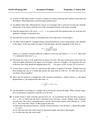 MATH 149 Recitation 4 Problems
