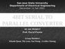 4BIT SERIAL TO PARALLEL CONVERTER