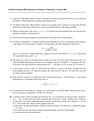 MATH 149 Recitation 3 Problems