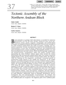 Tectonic Assembly of the Northern Andean Block