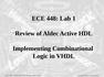 Review of Aldec Active HDL