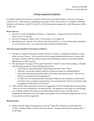 Writing Assignment Guidelines