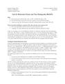 Molecular Clocks and Tree Dating (r8s, BEAST)