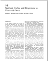 Nutrient Cycles and Responses to Disturbance