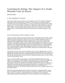 WTO Case Impact of a Trade Remedy Case in Korea
