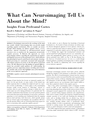 What Can Neuroimaging