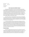 Stove Improvement Midterm Report