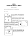 Introduction to the PIC18F4520