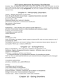 Psyc 238 Final Exam Review Sheet 2013 Spring