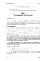 Lab 4 Debugging & Verification