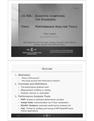 Performance Analysis Tools