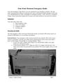 Etón Water Resistant Emergency Radio