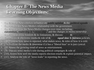 Chapter 8- The News Media