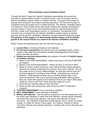 Micro-teaching Lesson Evaluation Packet