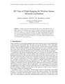 RF Time of Flight Ranging for Wireless Sensor Network Localization