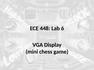 Lab 6 VGA Display