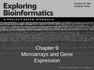 Microarrays and Gene Expression
