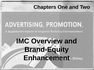 IMC Overview and Brand-Equity Enhancement