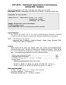 COP 4610L Syllabus