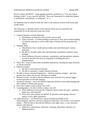 Midterm Exam Review Outline