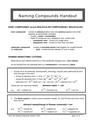 Naming Compounds Handout